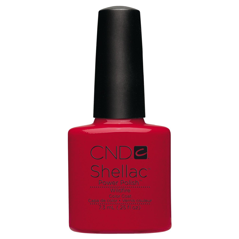 Amazon.com: CND Shellac Power Polish, Dark Dahlia: Luxury Beauty