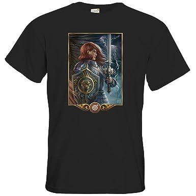 getshirts - Das Schwarze Auge - T-Shirt - Götter - Rondra - black S
