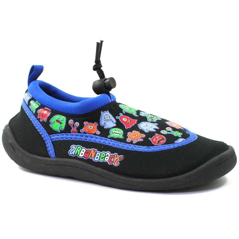 'Little Monster' Kids Aqua / Water Shoes