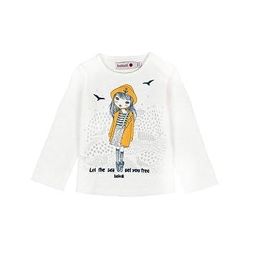 457866146 boboli Knit t-Shirt Flame for Baby Girl: Amazon.co.uk: Clothing