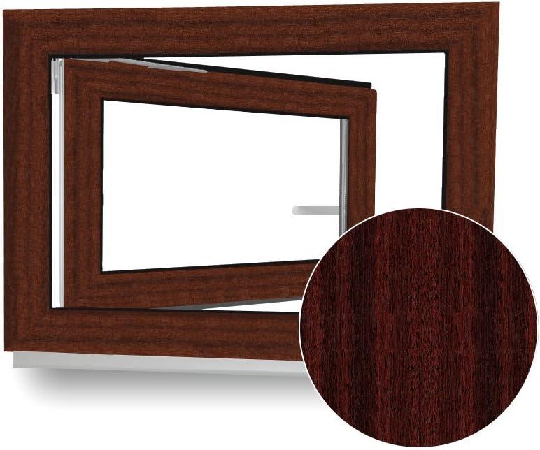 3-Fach-Verglasung Kunststoff Fenster DIN Links wei/ß Wunschma/ße ohne Aufpreis BxH: 100x70cm Kellerfenster