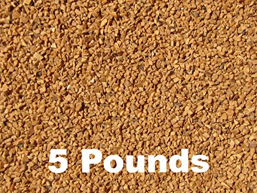 Walnut Shell - BC Precision Five (5) Pounds Walnut Shell Tumbling Media For Brass And Metal Cleaning & Polishing