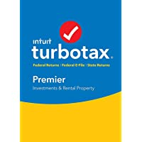 Turbotax Premier 2018 DISC - New - (for Win)