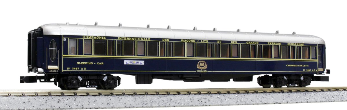 Kato 10-562 Orient Express '88 Passenger Car 6-Car Add-On Set