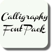 Calligraphy Font Pack