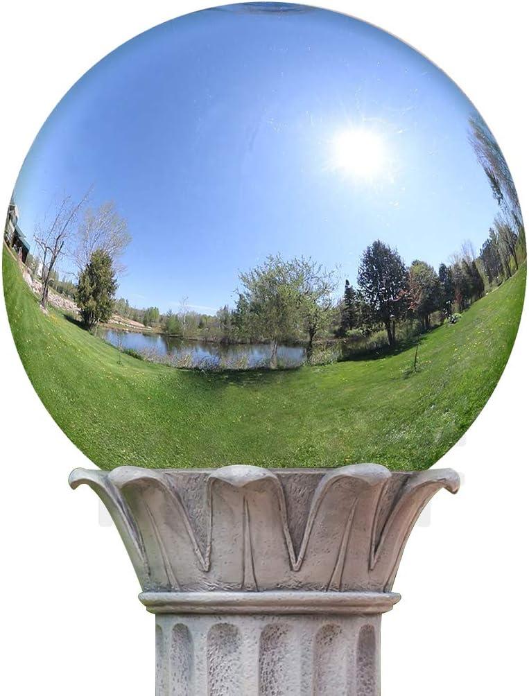 KANFF 6-Inch Silver Gazing Globe Mirror Ball, 6