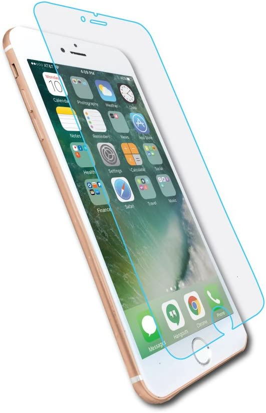 ArmorGlas by MYGOFLIGHT – Tempered Glass Screen Protector for iPhone 7 Plus and iPhone 8 Plus - Anti-Glare Anti-Reflection Anti-Shatter Scratch & Fingerprint Resistant Bubble-Free Easy Install