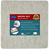 """13.5"""" x 13.5"""" Quilting Ironing Pad for Quilters – Wool Pressing Mat, Portable Wool Felted Iron Board"""