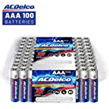 ACDelco AAA Super Alkaline Batteries in Recloseable Package, 100 Count