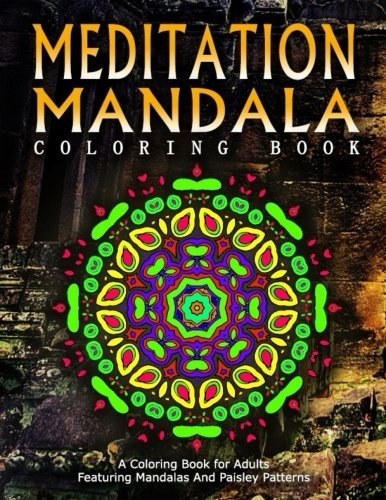 MEDITATION MANDALA COLORING BOOK - Vol.17: Women Coloring Books For Adults (Volume 17)