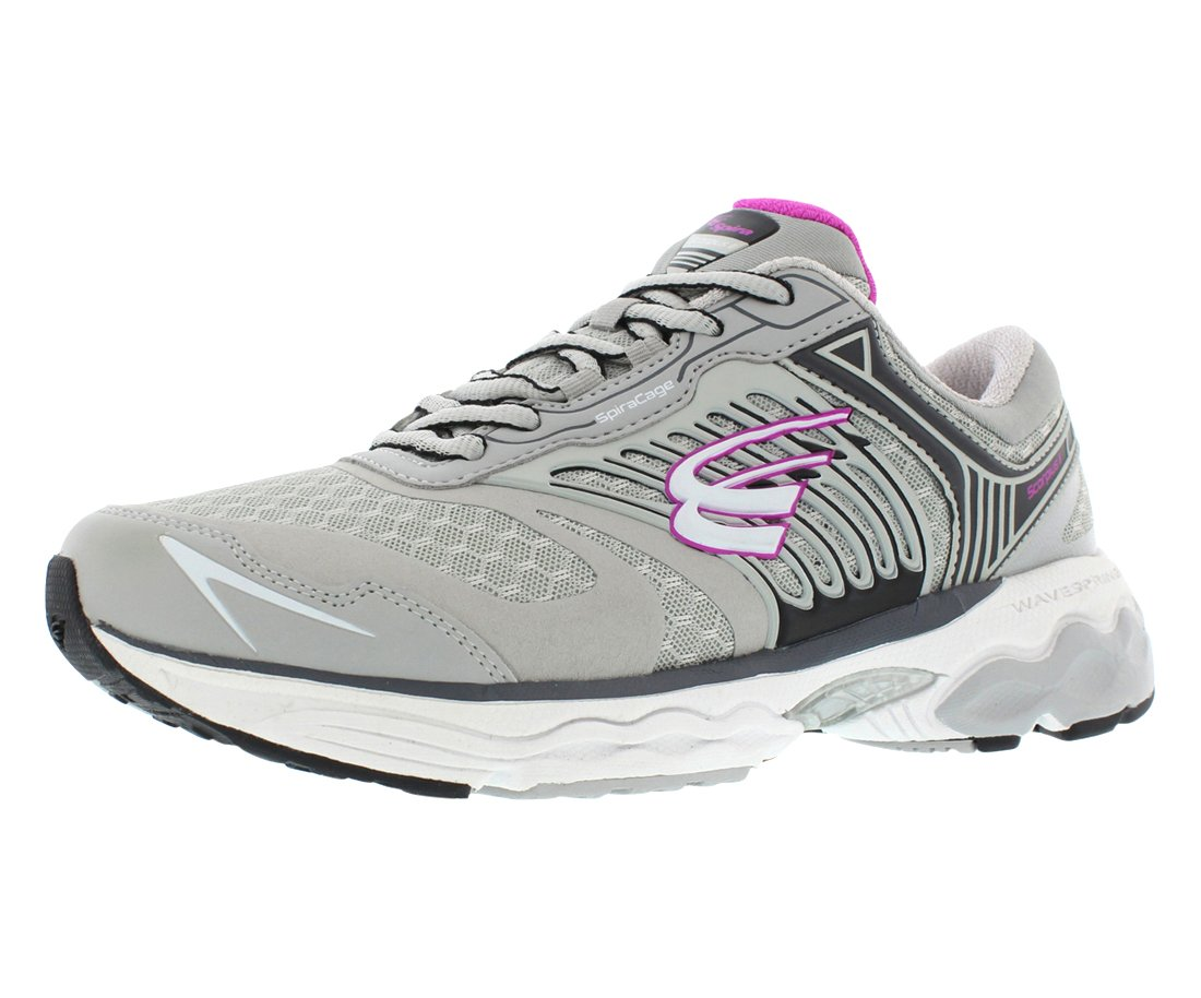 Spira Scorpius II Women's Running Shoes B06XTJ6KXR 9.5 C/D US|Grey/Black/Fuchsia
