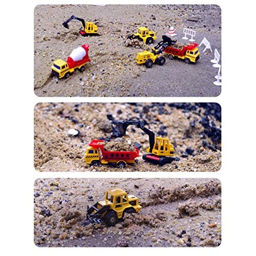 U DREAM, Construction Vehicles Toys Set for Kids,Total 5