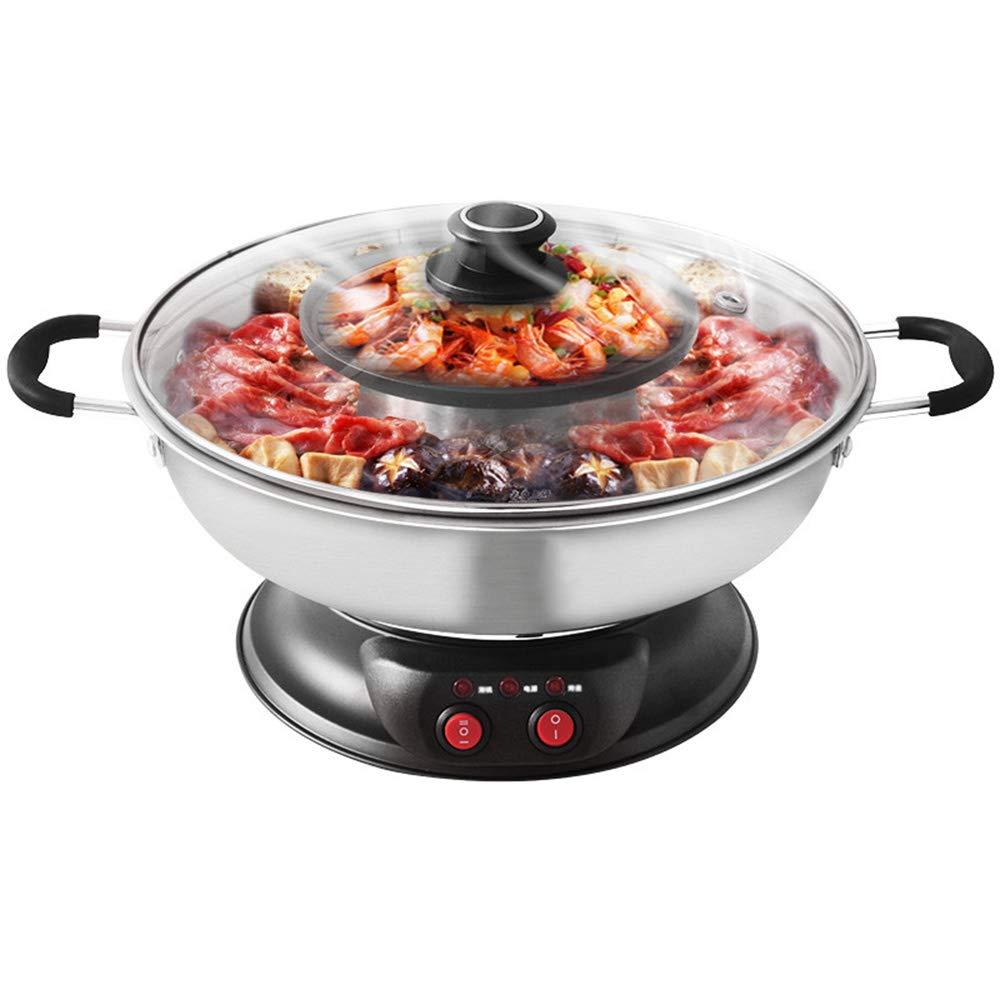 Sonya Electric Shabu Shabu Hotpot with BBQ Grill SYHS-4L, Bonus 2 Strainer Ladles