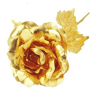 Suss Nelke Muttertag Geschenk 24k Gold Plated Dekoration Goldene