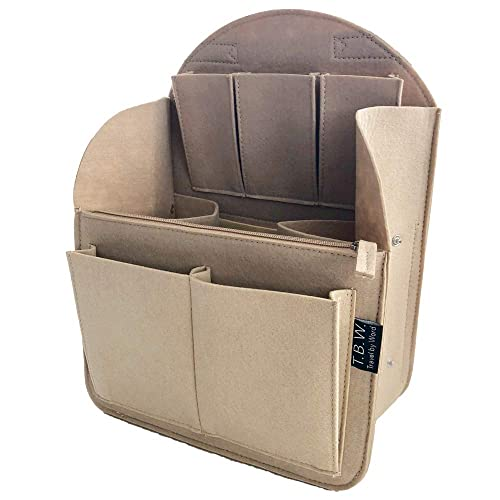 d78f274ee308 Felt Backpack Organizer Insert in 4 Sizes Round or Flat Top