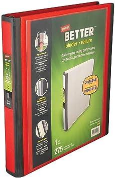 13468-Cc Staples 651742 1.5 3-Ring Better Binder Teal