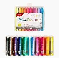 Monami 3000 PLUSPEN Color Pen, Set of 36, Assorted