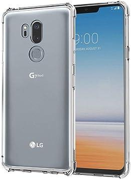 ZealBea Focus Funda LG G7 ThinQ, Funda Transparente Suave TPU Gel ...
