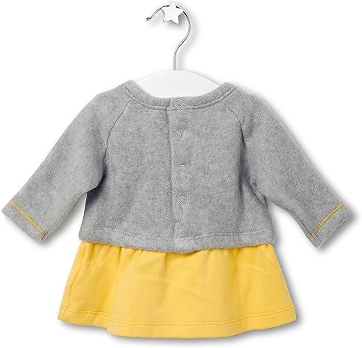 Tuc Tuc 38041, Vestido para Bebés, Amarillo, 56 (Tamaño del Fabricante:1M): Amazon.es: Ropa y accesorios
