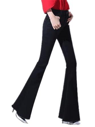 2958c7fd0e1 David Salc Autumn High Waist Flare Jeans Pants Plus Size Stretch Skinny  Jeans Women Wide Leg
