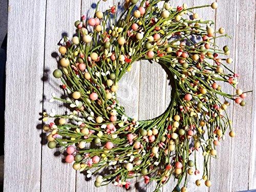 MerdCraft Green Pink Cream Combo Wreath 13