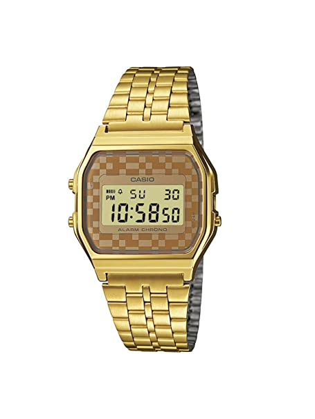 da77dd20dd23ae Casio Unisex WatchA159WGEA-9AEF: Casio: Amazon.co.uk: Watches