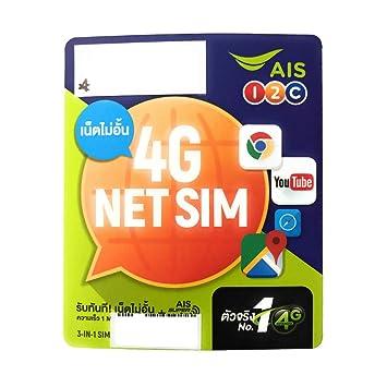 Tarjeta SIM Tailandia Prepaid UNBEGRENZT GB para 7 días ...