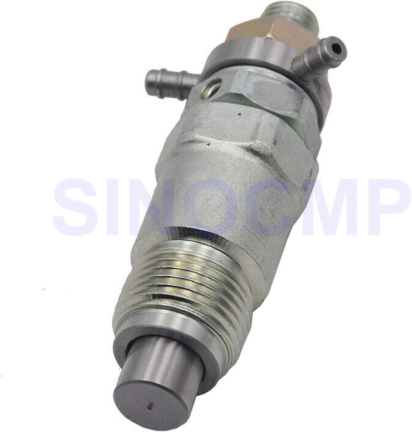 SINOCMP 4pcs 3974254 Fuel Injectors for Kubota V1702 D1402 V1902 Engine Bobcat 743 643 645 225 231 3 Month Warranty