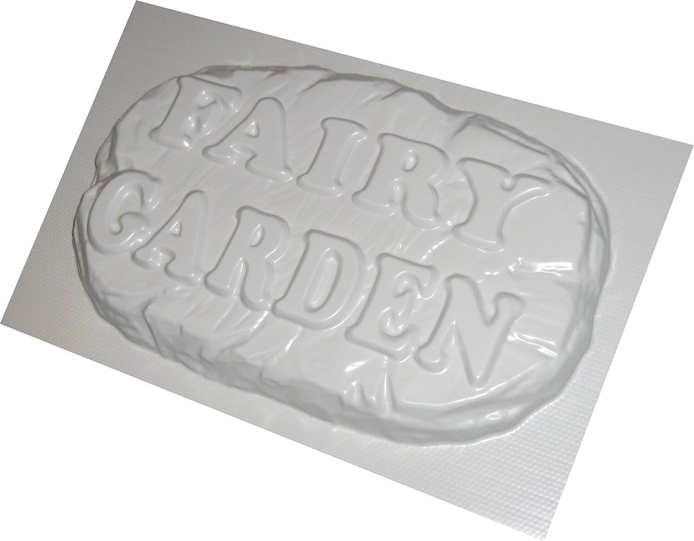 FAIRY GARDEN Plastic Garden Concrete Mould ABS dennycraftmoulds.co.uk