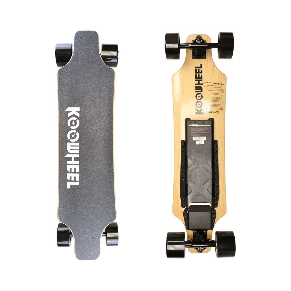 KooWheel D3X Maple Wood 2nd Generation Electric Skateboard - Dual 350W Hub Motors and 24.8 MPH Max Speed by KooWheel USA