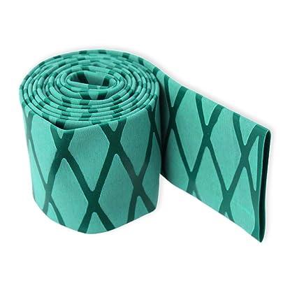 Hilltop Products Ltd - Mango antideslizante con textura termorretráctil X Wrap Grip Tubing verde, verde