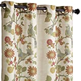 Pier 1 Imports Soprano Grommet Top 84'' Curtain Window Treatment by