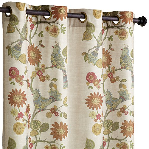 Pier 1 Imports Soprano Grommet Top 84'' Curtain Window Treatment by by Pier 1 Imports