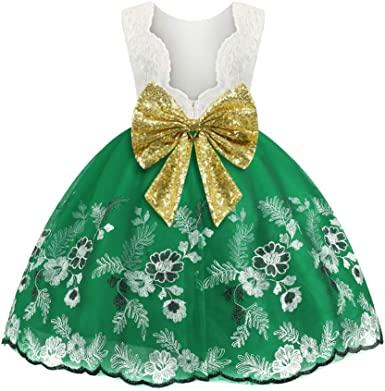 BRAND NEW Girls Outfit Green Tutu Lace Sparkle Top Age 3 4 5 6