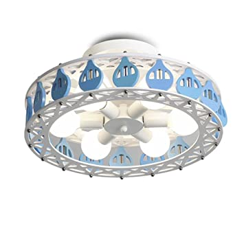 Kids Room Ceiling Lights Solid Wood Ferris Wheel Cartoon Lights LED Boys Girls  Bedroom Ceiling Lamp