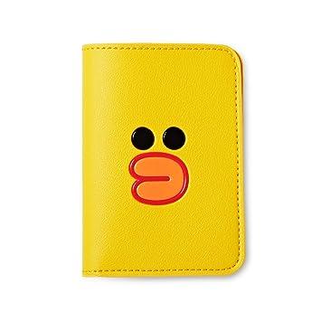 998cb212deb5 Amazon.com   Line Friends Passport Holder Wallet - SALLY Character ...