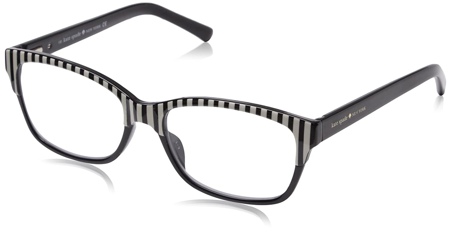 Kate Spade Women's Tenille Cateye Readers Black 1