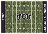 Texas Christian Horned Frogs Milliken NCAA Home Field Area Rug (5'4'' x 7'8'')