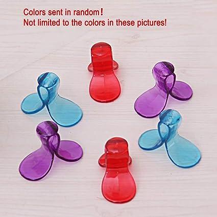 Amazon.com: Bag Clips - Random Color 6pcs Lot Fashion ...