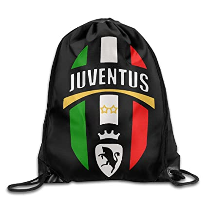 Image Unavailable. Image not available for. Color  Drawstring Bag Juventus  Football Club 1e1df0d2b41bb