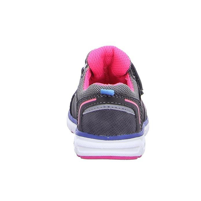Pep Step 1631201,coal-neon pink-turkis Größe 22 Mehrfarbig (02420Coal-Neon Pink-Türkis)