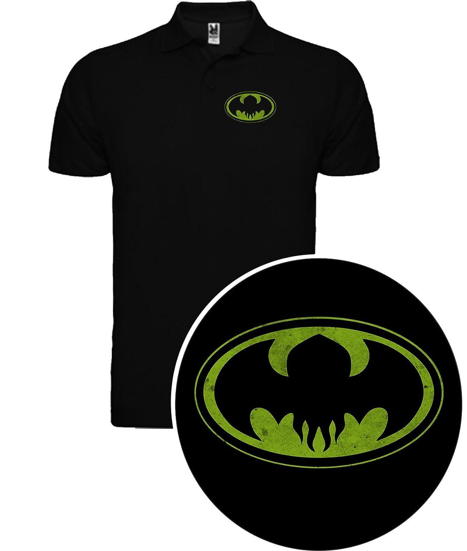 Polo de Hombre Batman Caballero Oscuro Comic DC: Amazon.es: Ropa y ...