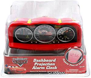 Disney Pixar Cars Dashboard Projection Alarm Clock - Cars Alarm Clock