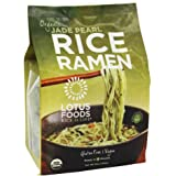 Lotus Foods - Organic Rice Ramen Bamboo-Infused Noodles, Jade Pearl - 10 Oz, 1 Pack