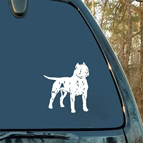 American Pit Bull Terrier Dog Car Wall Vinyl Decal Stickers