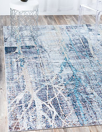 Modern Abstract Downtown Collection by Jill Zarin Contemporary Area Rug