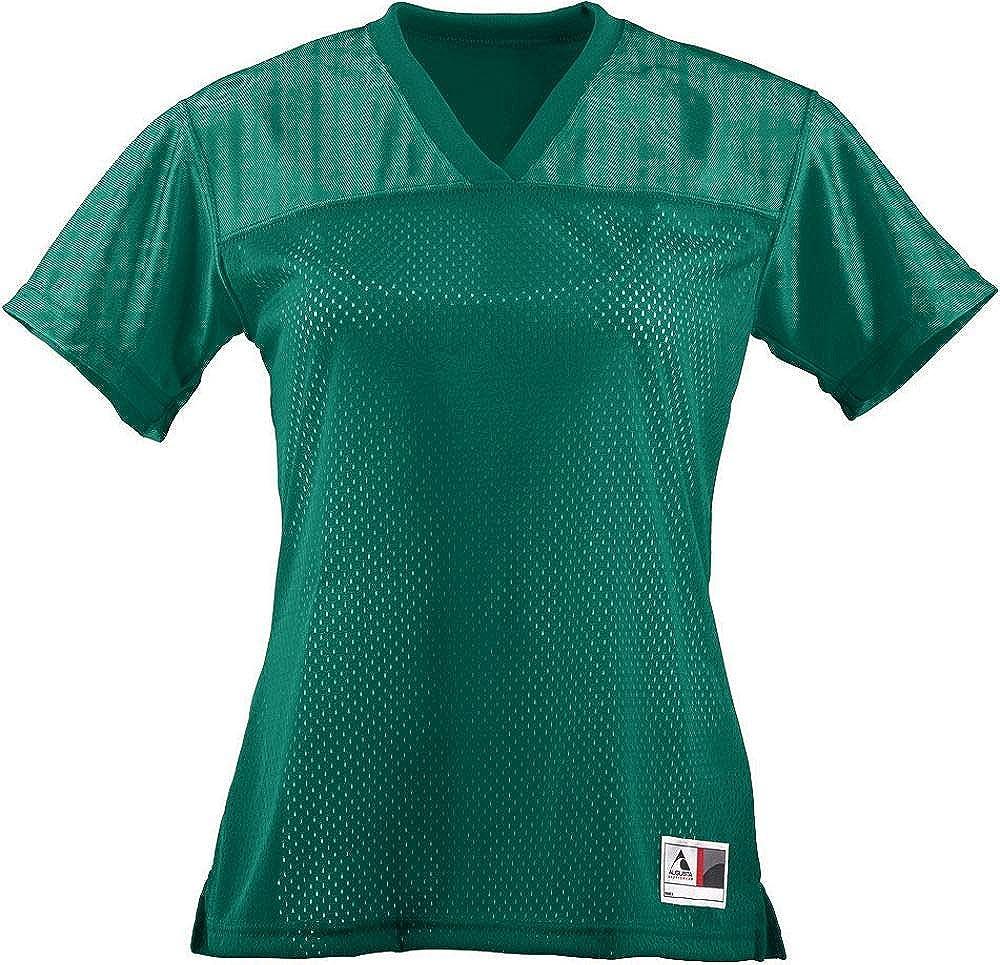 Augusta Sportswear Womens Junior fit Replica Football tee