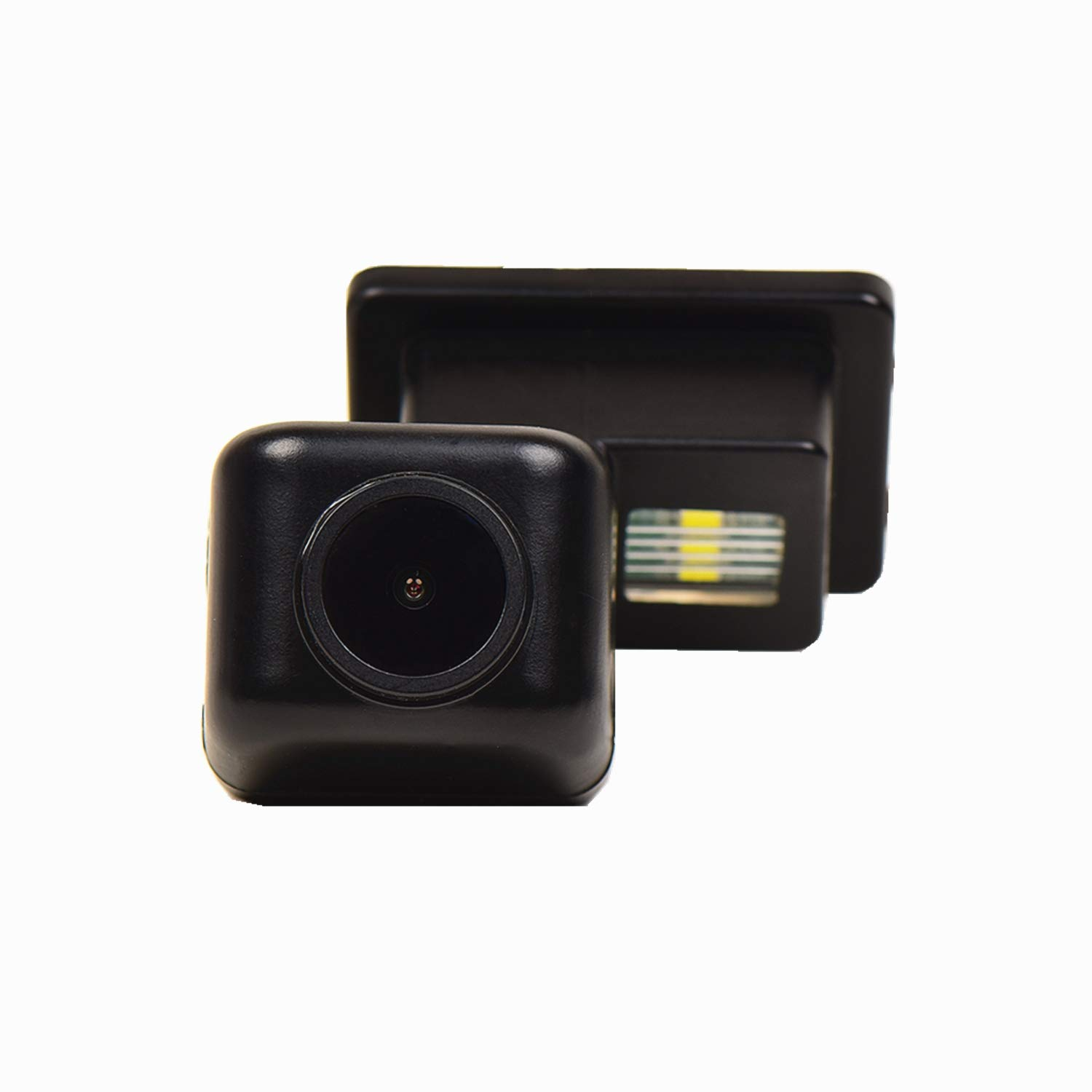 Rear Reversing Backup Camera Rearview License Plate Replacement Camera Night Vision Ip69k Waterproof for Mercedes Benz C CL CLS Class W204// C180//C200//C280//C300//C350//C63 AMG//C204// S204// W216 W204