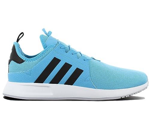 adidas Originals X PLR Herren Schuhe Blau Schwarz Sneaker Fashion Turnschuhe