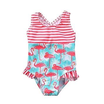 3-7T traje de baño for niños 2019 bebé niña traje de baño hoja de loto